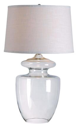 32260CLR Apothecary Table Lamp in Clear Glass 524802