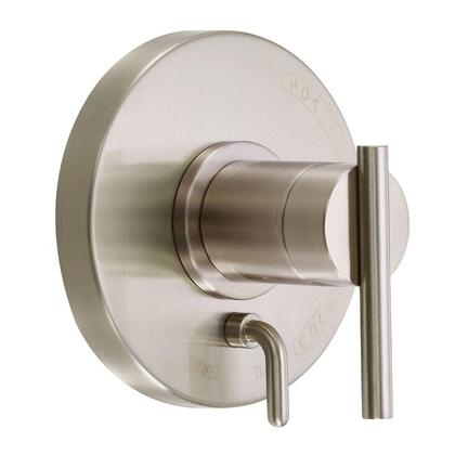 D500458BNT Parma Single Handle Valve and Trim Only Tub and Shower Faucet in Brushed