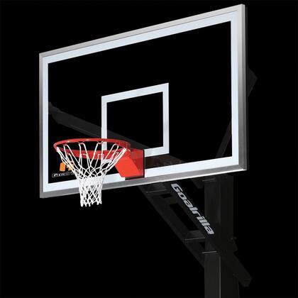 B5000W GS72c Basketball 72 inch  Hoop with a Pre-Assembled Pro-Style Flex Rim and an Anchor Bolt Mounting
