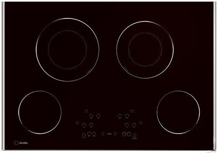 TR304DDLNA 30 inch  Smoothtop Electric Glass Cooktop With 4 Radiant Elements  Touch Controls  Stainless Steel Trims  Boost Function  Timer  Automatic Fast Boil