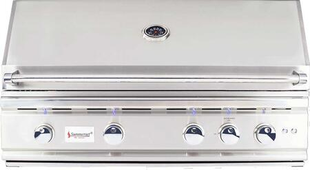 "TRL38-LP 38"""" TRL Series Built-In Liquid Propane Grill with 4 Stainless Steel U-Tube Burners  Rotisserie Infrared Back Burner  1156 sq. in. Cooking Surface and"" 759330"