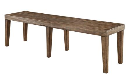 Colette CM3562BN-S Small Bench in Rustic Oak 782067