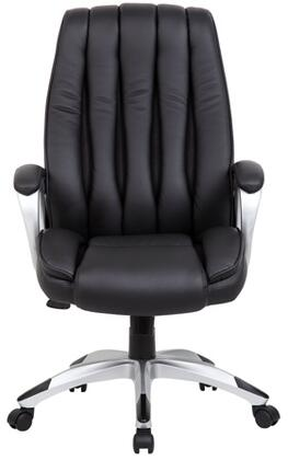 B7881-BK - Executive Ribbed Back Chair