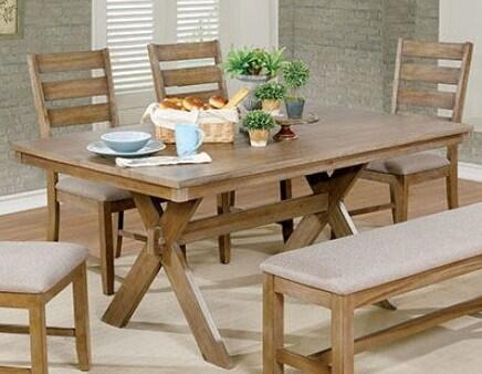 Click here for Xochil CM3171T Dining Table with Transitional Styl... prices