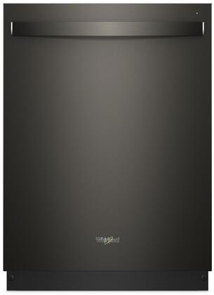 "Whirlpool 24"" Built-In Dishwasher Black stainless WDT750SAHV"