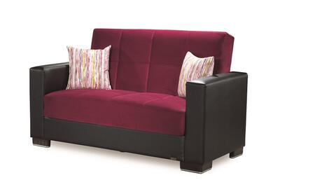 Armada Collection ARMADA LOVESEAT #10 BURGUNDY 24-379 65