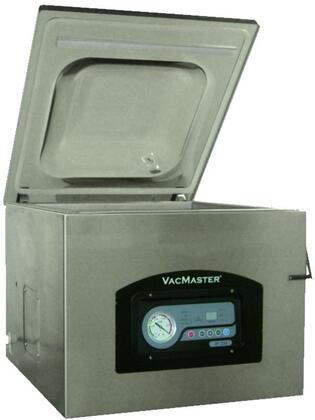 VP320C Vacuum Packaging Machine with Digital Display  Heavy Duty Smoke Color Domed Lid  and Hygienic Chamber  in Stainless
