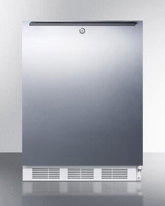 ALB651LSSHH 24 inch  ADA Compliant Dual Evaporator Undercounter Refrigerator with 5.1 cu. ft. Capacity  Cycle Defrost  Adjustable Thermostat  Professional