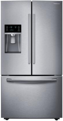 "RF28HFEDBSR 36"" Wide Energy Star Rated French Door Refrigerator with 28 Cu. Ft. Ultra-Large Capacity  Twin Cooling Plus  Ice Master  CoolSelect Pantry  and"