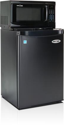 2.6SM4-7A1 Snackmate Series 2.6 Cu. Ft. Freestanding Compact Refrigerator with 700 Watt Microwave  LED Timer/Clock  CanStor Beverage Dispenser  2 Full and 1