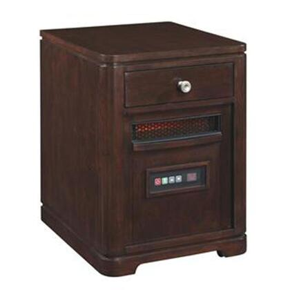 10HET4128-W502 Infrared Portable Heater with 6.686 Cu. Ft. 1500 Watt/5200 BTU Heat Output 6 InfraRed Quartz Heating Elements Solid Hardwoods and Real Wood