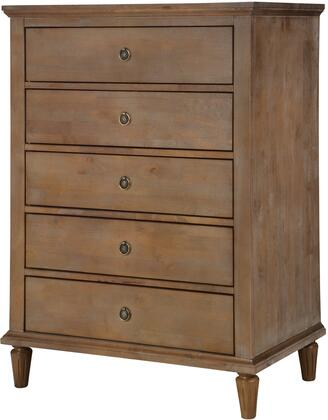 LuXeo LUX-5D2501-OGRY Cambridge Dresser Oak Gray