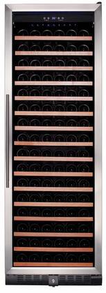 Smith & Hanks RW428SR 166 Bottle Single Zone Wine Refrigerator, 24 Inch Width, Built-In or Free Standing