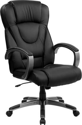 BT-9069-BK-GG High Back Black Leather Executive Office