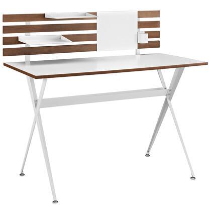 EEI-1326-CHR Knack Wood Office Desk in Cherry