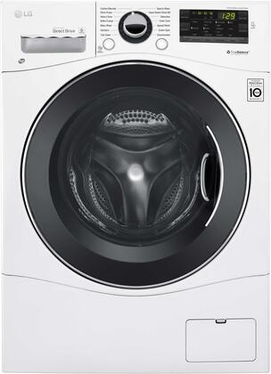 "White Laundry Pair with WM1388HW 24"""" Washer  DLEC888W 24""""  Electric Condensing Dryer and KSTK1 Stacking"" 705988"
