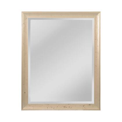 MW5200B-0048 Maddux Mirror in Aged Silver  Ebony