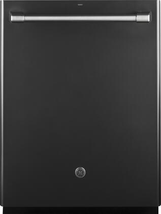 "GE Caf Series 24"" Built-In Dishwasher Black slate CDT865SMJDS"