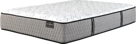 Mt Rogers Ltd Firm Collection M83631 15 inch  Thick Queen Size Mattress with Wrapped-Coil System  Ultra Loft ComformaFiber and High Density Foam Encasement in