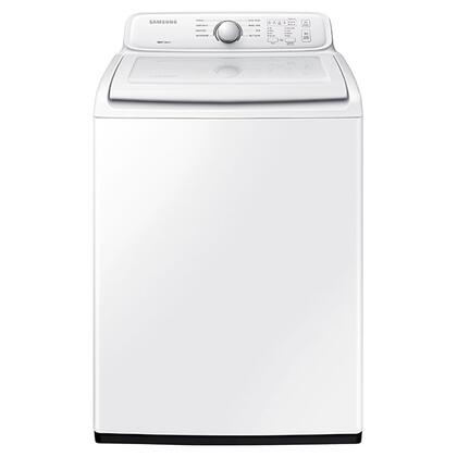 "WA40J3000AW 27"" Top Load Washer with 4.0 cu. ft. Capacity Self-Cleaning Mode  Soft Close Lid  and Diamond Drum Design in"
