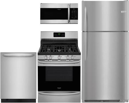 4 Piece Kitchen Appliance Package with FGTR1837TF