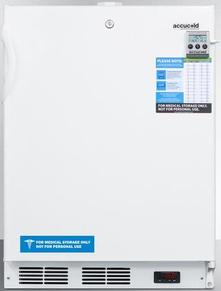 ACF48WMEDDTADA 24 inch  Medical  ADA Compliant  Freestanding or Built In Compact Freezer with 3.1 cu. ft. Capacity  NIST Calibrated Temperature Display  Temperature