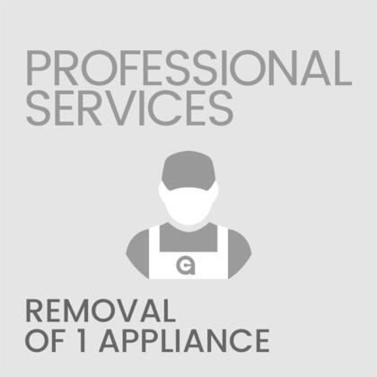 Removal of 1 Appliance (Only Available with Valid Appliance