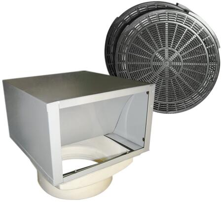 SV218-ACS-RECIR-B2/F/L2-WM CAVALIERE Ductless Re-Circulating Kit with Charcoal Filter Set - Fits Wall Mount Series