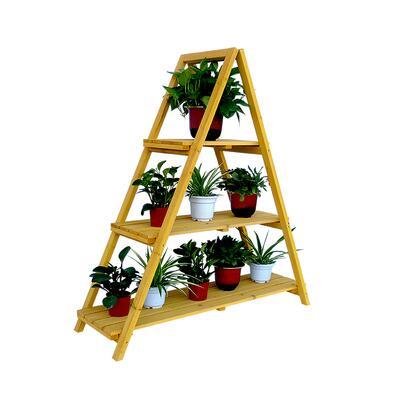 PSL6871 Wooden Ladder Plant