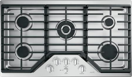 GE Cafe CGP95362MS1 36 Inch Gas Cooktop