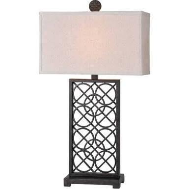 LPT382 Sansa Table Lamp Table Lamp in Rich