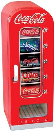 CVF18 Coca-Cola Retro Styled 10 Can  0.64 cu. ft. Capacity Vending Refrigerator in