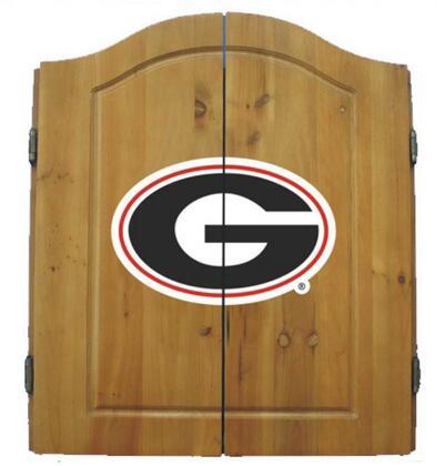 58-4008 University of Georgia Dart Cabinet Set with Interior Score