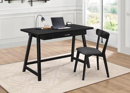 800899 2-Piece Desk Set with Writing Desk and Chair in