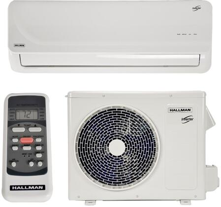 HMS15B18 Single Zone Mini Split Air Conditioner System with 18000 Cooling BTU  18000 Heating BTU  Auto-Restart  Ultra-Quiet Indoor Unit  3 Fan Speeds  and 4 709948