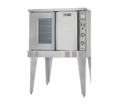 SUMG-100 38 inch  Summit Series Single Deck Full-Size Convection Oven  Solid State Controller  Two Speed Fan Control with 3/4 HP Fan Motor and Direct Spark Ignition