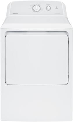 GE Hotpoint HTX24GASKWS White Electric Dryer