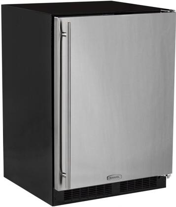 ML24RIP5RP 24 inch  Star K  Energy Star Compact Refrigerator with 72 Cans Capacity  Ice Maker  13 Lb Ice Capacity  Automatic Defrost  Adjustable Shelves and Dynamic