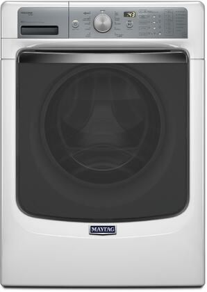 "MHW8150EW 27"" Energy Star Rated Front Load Washer with 4.5 cu. ft. Capacity  11 Wash Cycles  Steam and PowerWash System  PowerSpray Technology  Steam Enhanced"