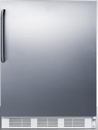 CT66JSSTBADA 24 inch  CT66JADA Series ADA Compliant  Medical Compact Refrigerator with 5.1 cu. ft. Capacity  Interior Light  Adjustable Thermostat  Clear Crisper