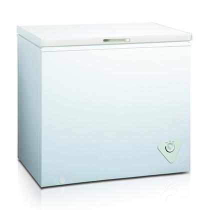 WHS-258C1 7.0 CF Manual Defrost Chest Freezer with Mechanical Temperature Control  Adjustable Thermostat  Removable Storage Basket and Balanced Hinge Design in