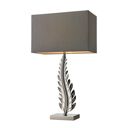 D2683 Oak Cliff Solid Brass Table Lamp in Polished