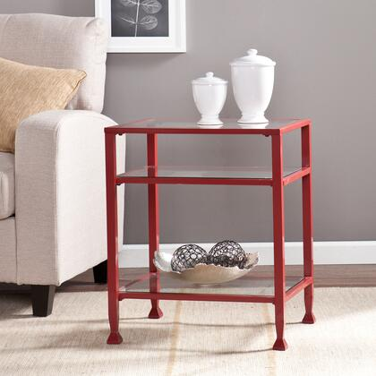 CK2772 Metal/Glass End Table -