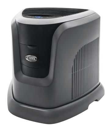 "EA1201 19"""" Console Style Large Home Evaporative Humidifier with Up to 12 Gallons Daily Output  3.5 Gallon Capacity  Up to 2500 Sq. Ft.  and Digital Touch"" 394293"