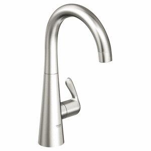 Grohe 30026SD0 LadyLux3 Single-Handle Standard Faucet, Stainless Steel