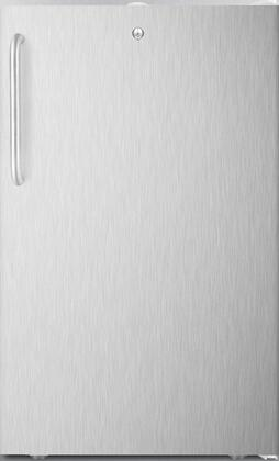 FS407L7BISSTB 20 inch  Upright Freezer with 2.8 cu. ft. Capacity  4 Pull-Out Storage Drawers  Reversible Door  Factory Installed Lock and Manual Defrost  in