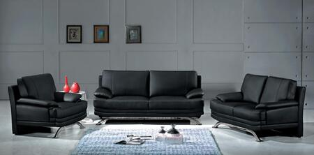 VGEV-SP-9250 Divani Casa 9250 - Modern Bonded Leather Sofa