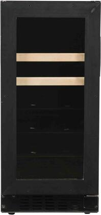 A115BEV-O 15 inch  Beverage Center with Field Reversible Door  ADA Compliant  Digital Display Control  Blue LED Interior Lighting  4 Glass Shelves  Auto Defrost  in
