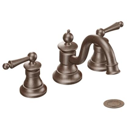 TS418ORB Waterhill Two-Handle High Arc Bathroom Faucet in Oil Rubbed Bronze
