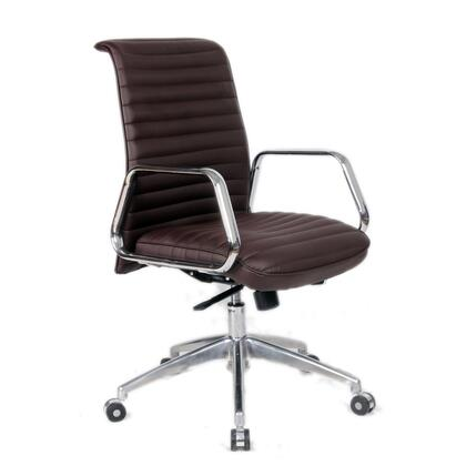 FMI10179-dark brown Ox Office Chair Mid Back  Dark